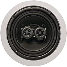 ArchiTech AP-611 6.5 In-Ceiling Speaker 2-Way Round Single-Point Pro Series Consumer Electronics