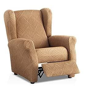 Funda de sillón Relax elástica Aitana - Color Beige - Tamaño estandar (Contáctanos para Mayor información)