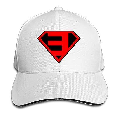 Super Rap Star Eminem Super Logo Supermade Unisex Peaked Baseball Cap Snapback Hats