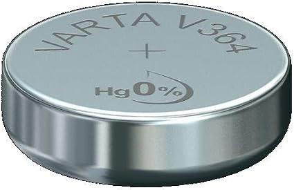 Varta Batterien Electronics V364 Lithium Knopfzellen 1er Pack Knopfzellen In Original 1er Blisterverpackung Baumarkt