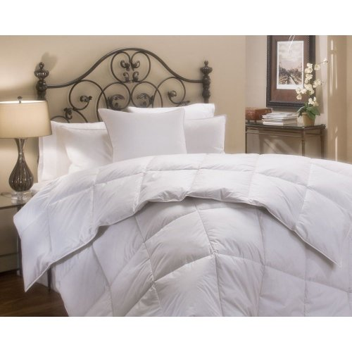 Clara Clark Ultra Soft Goose Down Alternative Double Fill Hypoallergic Comforter (Duvet) - Queen Size