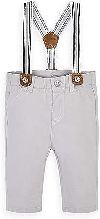 Mayoral Pantalón niño con tirantes gris 2565