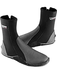 Cressi ISLA, Elastic Neoprene Tall Boot with Sole for Scuba Diving, Snorkeling, and Freediving - Cressi: Quality Since 1946