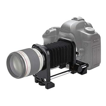 Tubo de Fuelle con extensión de Lente Macro para Nikon para Sony ...