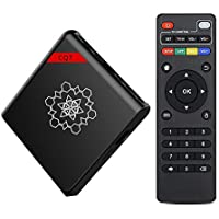 BIGFOX Amlogic S905X 4K Quad Core Set Top Box Google Android Internet TV Box Player with 8gb Flash Drive 1GB RAM for HD TV
