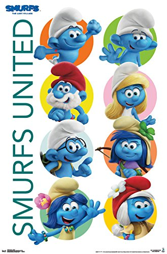 Trends International Smurfs 3 United Wall Poster