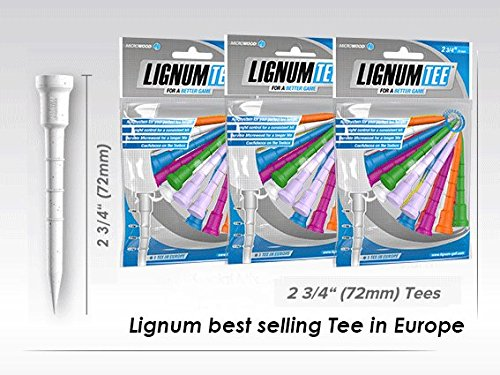 LIGNUM Golf Tee Limited Edition 2 3/4-36pc Golf Tees by LIGNUM (Image #8)