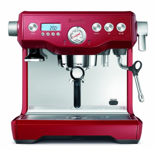 Breville BES920CBXL Dual Boiler Espresso Machine, Cranberry Red from Breville