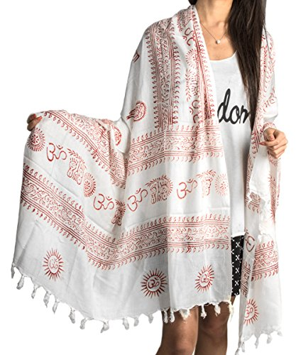 Large Scarf Cotton Printed Bohemian product image
