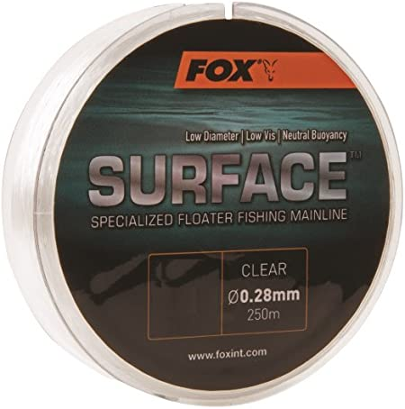 Clear Carp Fishing Fox Surface Floater Mainline