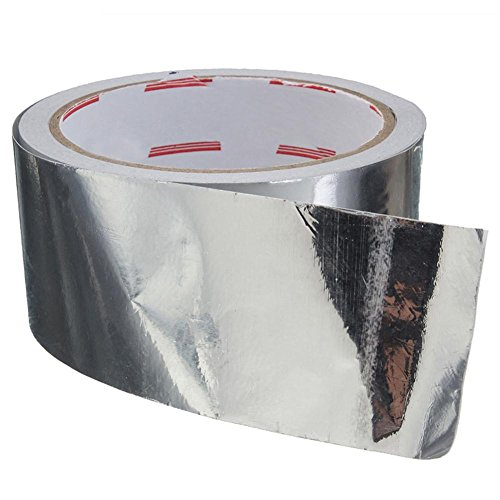 Pipe Heating Cable Water (Stylishbuy 17M 5CM Silver Aluminum Foil Tape for HVAC, Metal Repair, Insulation, Sealing & Patching Hot & Cold Air Ducts)