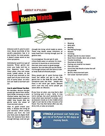 Amazon.com: utinole hp2020- helicobacter pylori anti ...