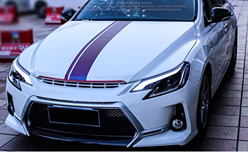 GOWE Car Styling for Toyota Reiz led headlights 2013-2016 new Mark X LED Head Lamp signal drl H7 hid Bi-Xenon Lens low beam Color Temperature:6000K;Wattage:55K 1