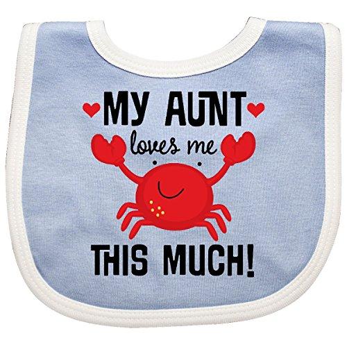 Crab Baby Bib (Inktastic - My Aunt Loves Me Nephew Baby Bib Blue/White 2e7ce)