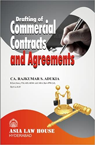 Buy Drafting Commercial Contracts And Agreements Book Online At Low