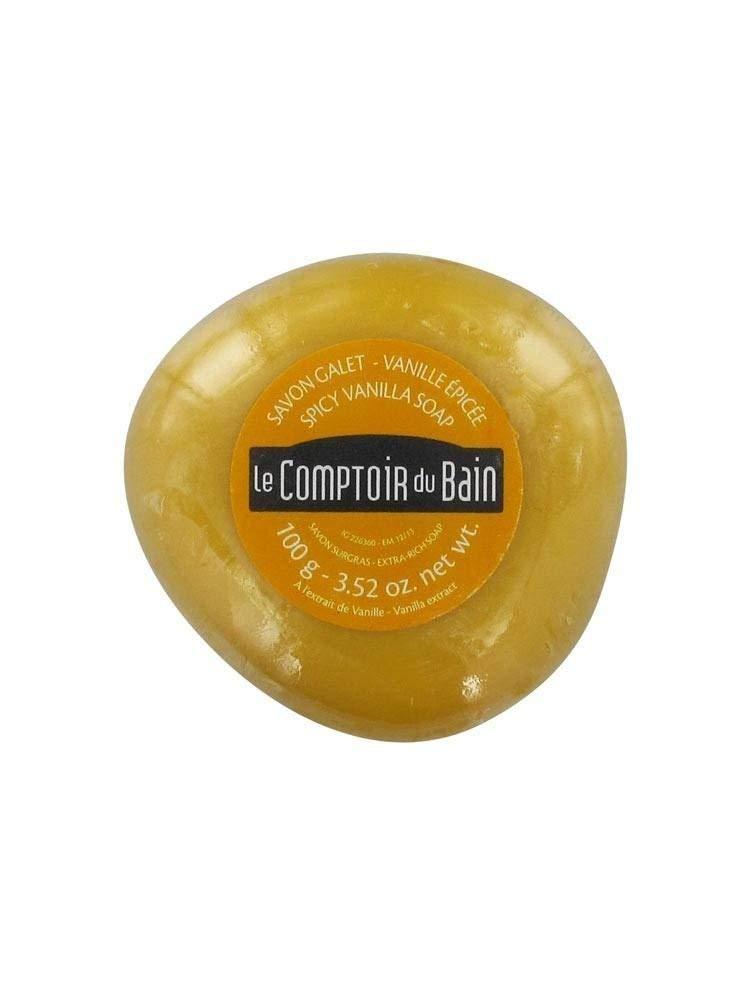 Le Comptoir du Bain Jabón Enriquecido con Aceite de Vainilla Francesa 3273818840459