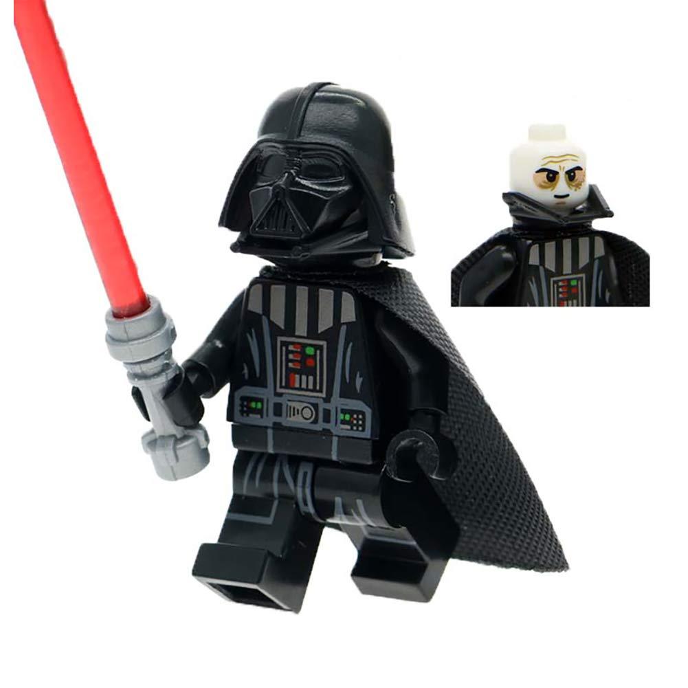 Hilai Star Wars Figurine Darth Vader Blanc tête-Cou Morceau Casque Enfants Jouet
