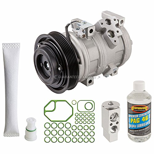 - AC Compressor w/A/C Repair Kit For Toyota Camry Avalon Solara Highlander V6 Lexus RX300 ES300 ES330 - BuyAutoParts 60-80230RK New
