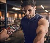 Daupanzees Men Gym Shirt Workout Stringer