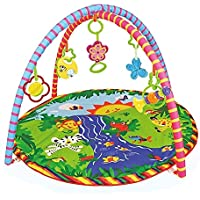 Toyshine Babys Playmat Gym with Toys, Made of Non Toxic Soft Materials