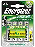 Battery: AA: Energizer Rechargeable ACCU 2000mAh (4 Batteries)