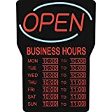 Royal Sovereign Business Hours Open Sign