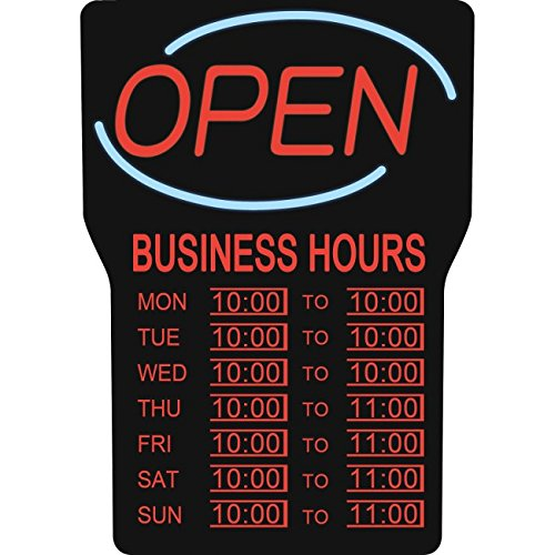 Royal Sovereign Business Hours Open Sign by Royal Sovereign