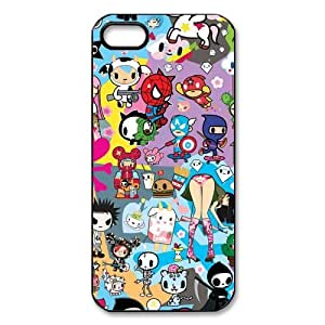 DiyCaseStore Tokidoki All Character Art Lovely iPhone 5 5S Best Durable Cover Case Christmas Gift Idea