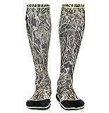 WETSOX Wader Sox, Reed Camo Hunting and Fishing Socks, 1mm Neoprene Keeps Feet Warm Wet or Dry