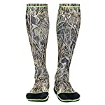 WETSOX Wader Sox, Reed Camo Hunting and Fishing Socks, 1mm Neoprene Keeps Feet Warm Wet or Dry