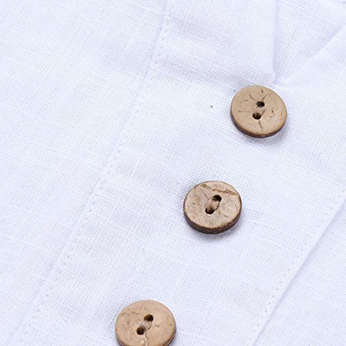 y de de dobladas Blusas Vestido Floral Impresión Vintage Playa Irregulares Sonnena Dress Estampado Shirt otoño Manga Camisetas Mujer de Larga Traje Blanco Floral Camisa Vestido Calle yq1Fz77wY