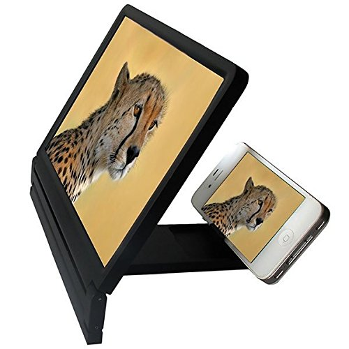 Hylong Mobile Phone Screen Magnifier Bracket Enlarge Stand For Cell Phone Smartphone multi-color one size by Hylong