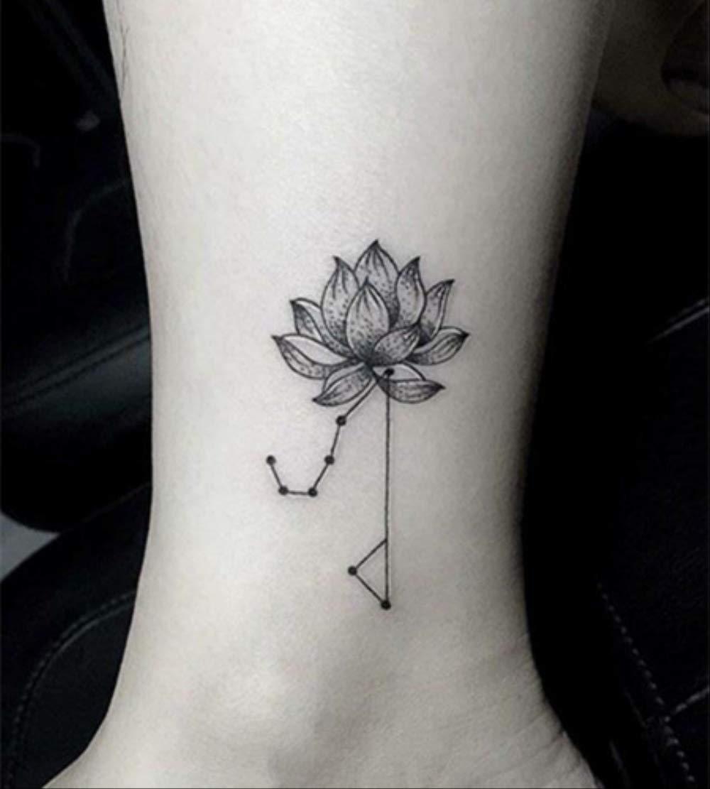 Etiqueta engomada del tatuaje temporal a prueba de agua Patrón ...