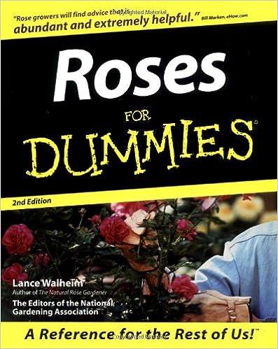 Kostenlose E-Books herunterladen iPad Roses For Dummies by Lance Walheim PDF ePub 0764552023