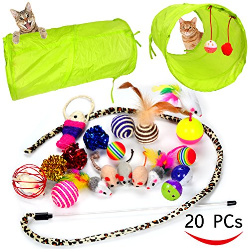 Kitten Assortments Tunnel Feather Teaser product image
