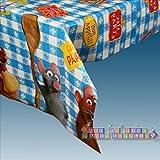 Ratatouille Plastic Table Cover (1ct)