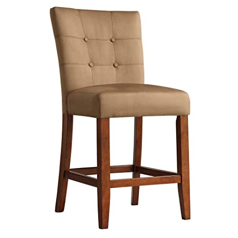 Super Weston Home Tufted Counter Stool 24 In Set Of 2 Dailytribune Chair Design For Home Dailytribuneorg
