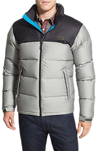- The North Face Mens Nuptse Jacket (XX-large, BLACK INK GREEN HEATHER / TNF BLACK)