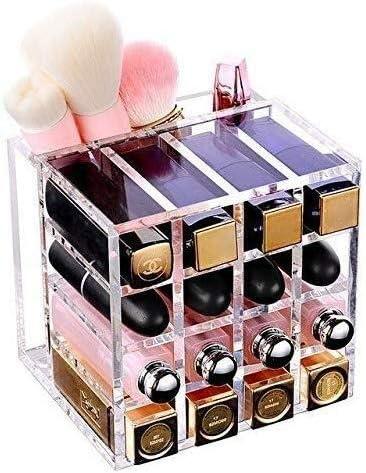 Cajas de joyería DJSSH Cosméticos Caja de almacenamiento Acrílico maquillaje del lápiz labial del maquillaje caja de maquillaje organizador de maquillaje cosmético del cepillo titular Organizador de e: Amazon.es: Hogar
