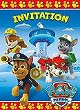 Unique Industries Paw Patrol Invitations (8 Pack)