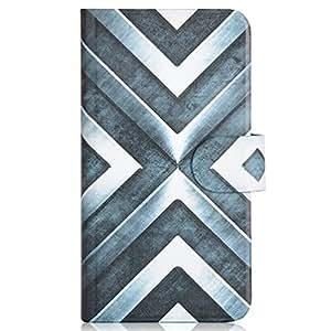 Generic Shine Steel Design Card Slot Magnetic PU Leather Flip Case Cover Compatible For LG Optimus L3 II E430