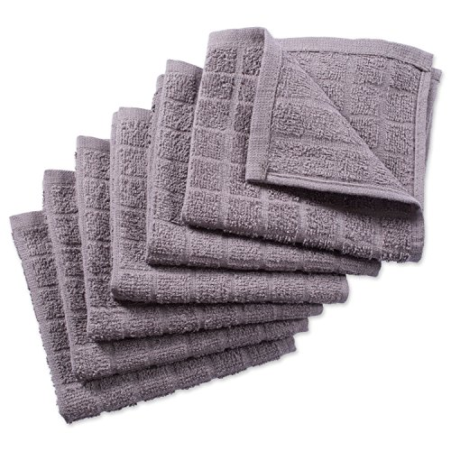 DII Windowpane Washable Absorbent Towels Solid product image