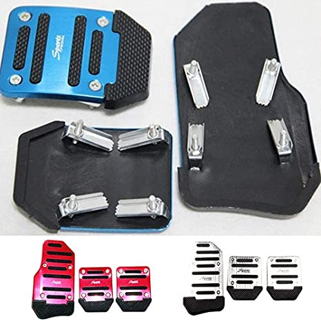 Amazon.com: Car Non-Slip Pedal Manual Car Brake Clutch Accelerator Alloy Antiskid Foot Treadle - Red liyhh: Cell Phones & Accessories