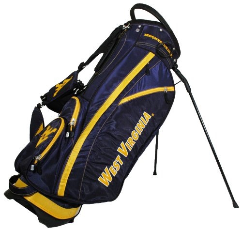 West Virginia Mountaineers Bag (NCAA West Virginia Mountaineers Fairway Golf Stand Bag)