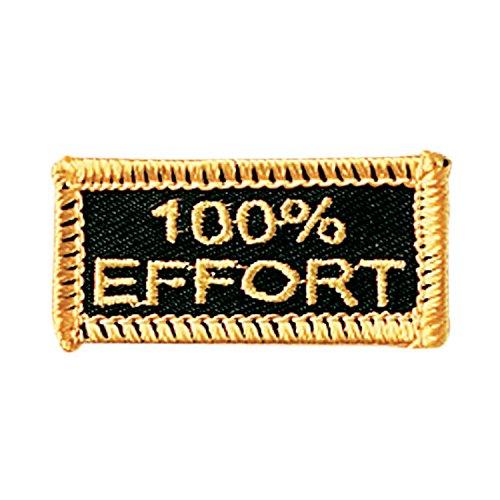 Century 100% Effort Belt Achievement Patch ()