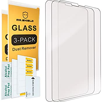 [3-PACK]-Mr Shield For Nokia Lumia 630 635 636 638 [Tempered Glass] Screen Protector with Lifetime Replacement Warranty