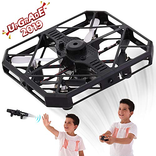 RC Drones for Kids and Adults – RC Quadcopter Mini Drone Toy – Headless Mode – Sensors for Hand Operated or Remote Control – Obstacle Avoiding – USB Charging – 6 Axis – 360 Degree Roll