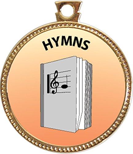 Hymns Award, 1 inch dia Gold Medal