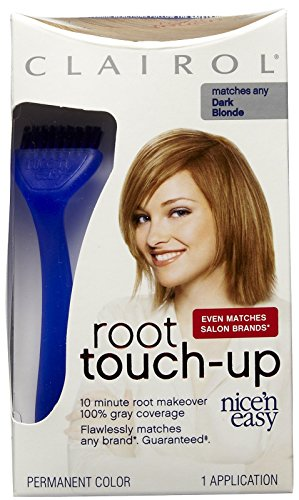 Clairol Nice n Easy Touch, Up, 007, Dark - N Nice Clairol Brush Easy