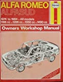 Alfa Romeo Alfasud 1974-84 Owners Workshop Manual